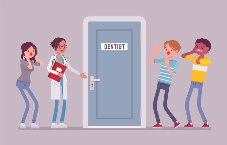 fear or dentist