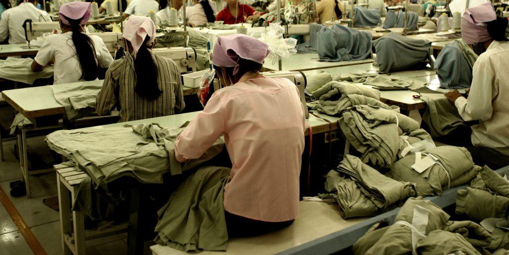 poor conditions in cloth factories