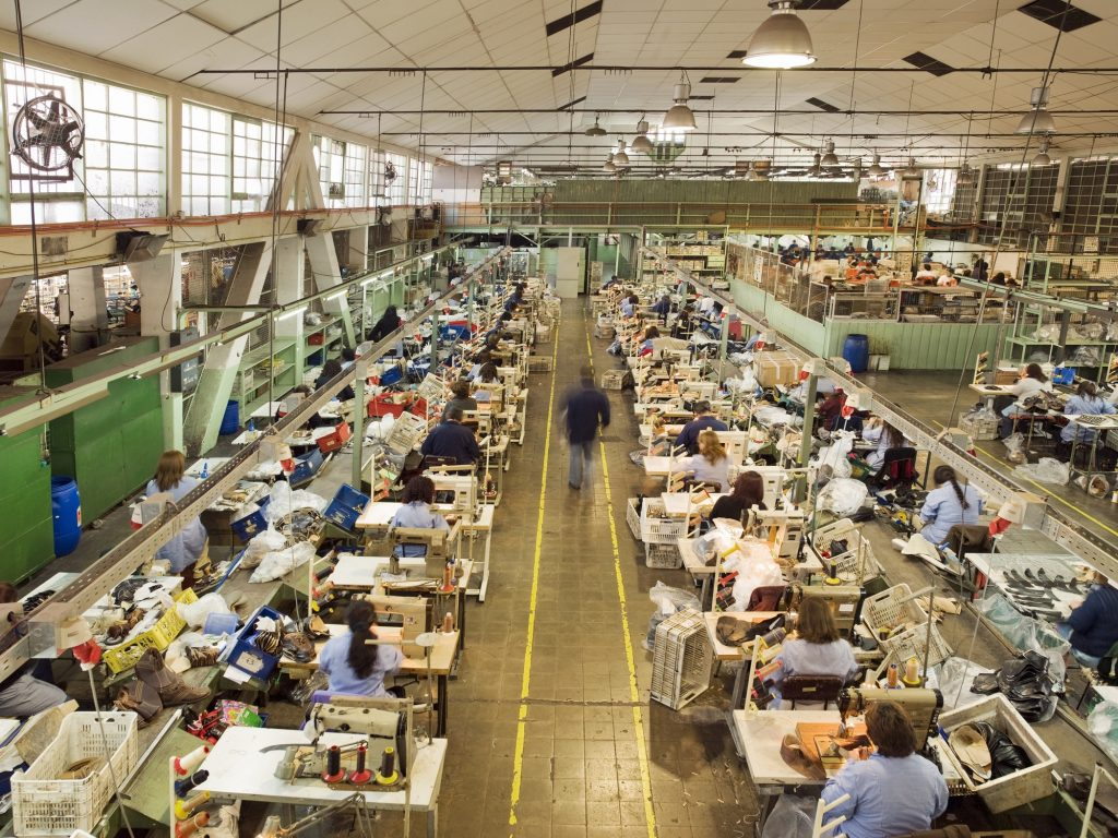 modern day textile industry