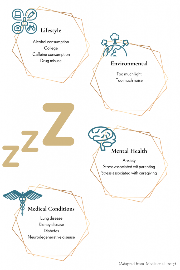 risk factors for sleep deprivation symptoms